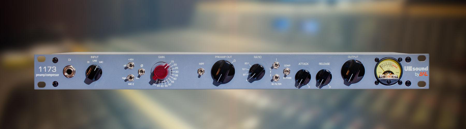 1173 Mic Pre Compressor