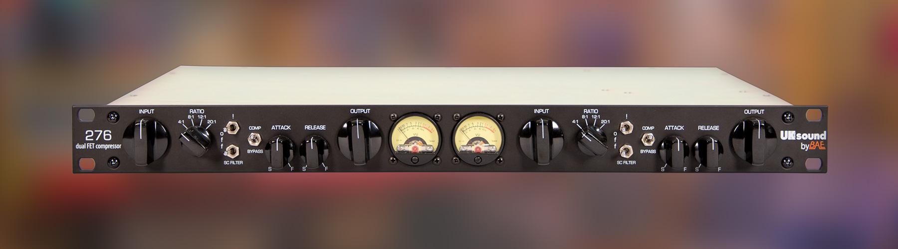 276 Dual Channel FET Compressor
